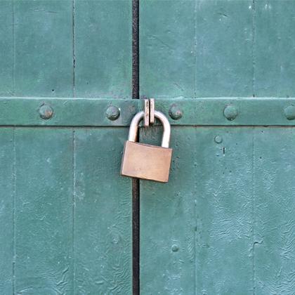 IP, locked door
